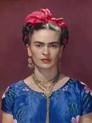 Exposition sur Grand Ecran, Exhibition on Screen, Frida Kahlo